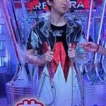 大野智さん着用の衣装◆嵐にしやがれ 14/5/17◆コート