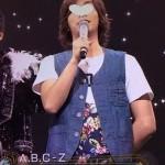 河合郁人さん着用の衣装◆ザ少年倶楽部 14/6/11◆Tシャツ