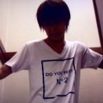阿部顕嵐さん着用の衣装◆近キョリ恋愛 10話◆Tシャツ