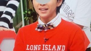 佐藤勝利ネプリーグ9月15日着用衣装の赤いニット