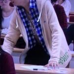 中島健人 黒服物語1話着用の衣装 パーカー