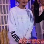 渋谷すばるさん着用の衣装◆ベストアーティスト2014 14/11/26◆スウェット