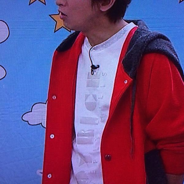VS嵐12月11日 大野智着用衣装 JOYRICH スウェットTシャツ