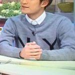 松崎祐介さん着用の私服(?)◆ゴゴスマ! 14/12/26◆ニット