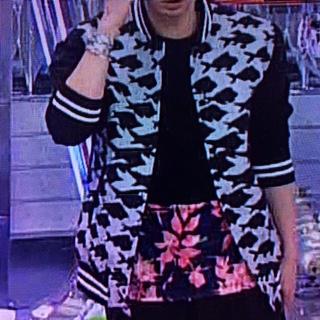 松本潤 2月7日嵐にしやがれ着用衣装 スタジャン
