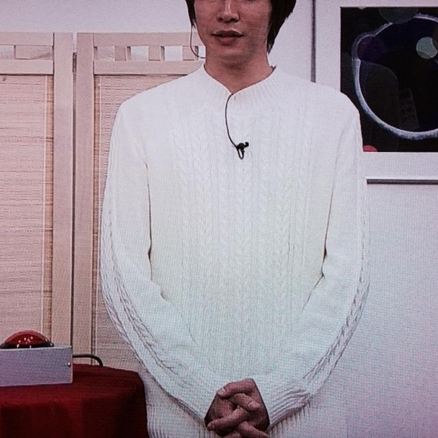相葉雅紀 トーキョーライブ 3月23日着用衣装ニット