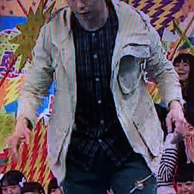 櫻井翔 3月19日VS嵐着用衣装 チェックシャツ