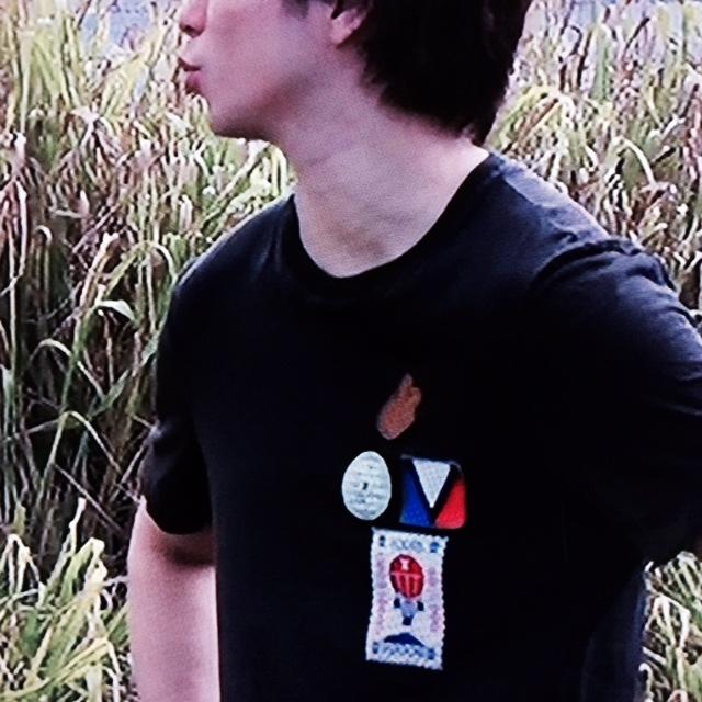 櫻井翔 ハワイ着用の私服Tシャツ