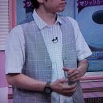 福田悠太さん着用の衣装◆ゴゴスマ 15/6/12◆ベスト