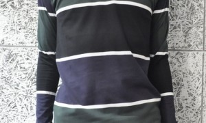 相葉雅紀 嵐にしやがれ 着用衣装 ボーダーTシャツ