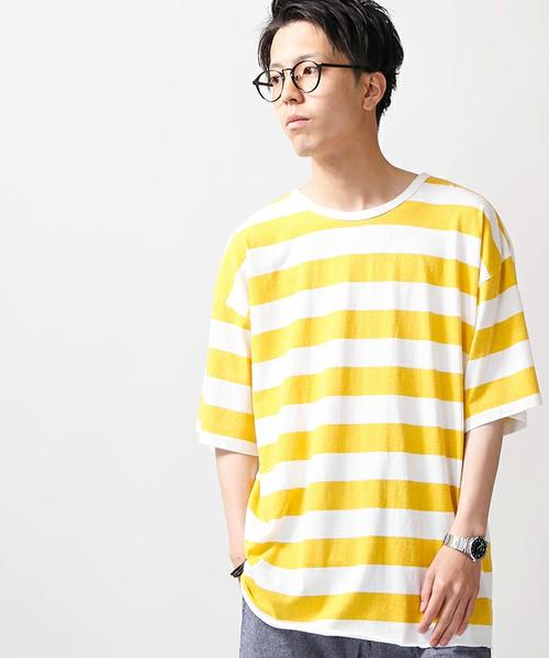 相葉雅紀 VS嵐 衣装 6/8 ボーダーTシャツ WEGO