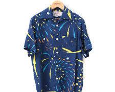 有岡大貴 スッキリ 孤食ロボット 衣装 花火柄シャツ