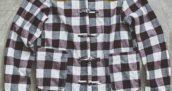 二宮和也さん着用の衣装◆月刊ザテレビジョン 2017年11月号◆チェックシャツ