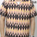松本潤さん着用の衣装◆VS嵐 2017/7/27◆幾何学模様のアロハシャツ
