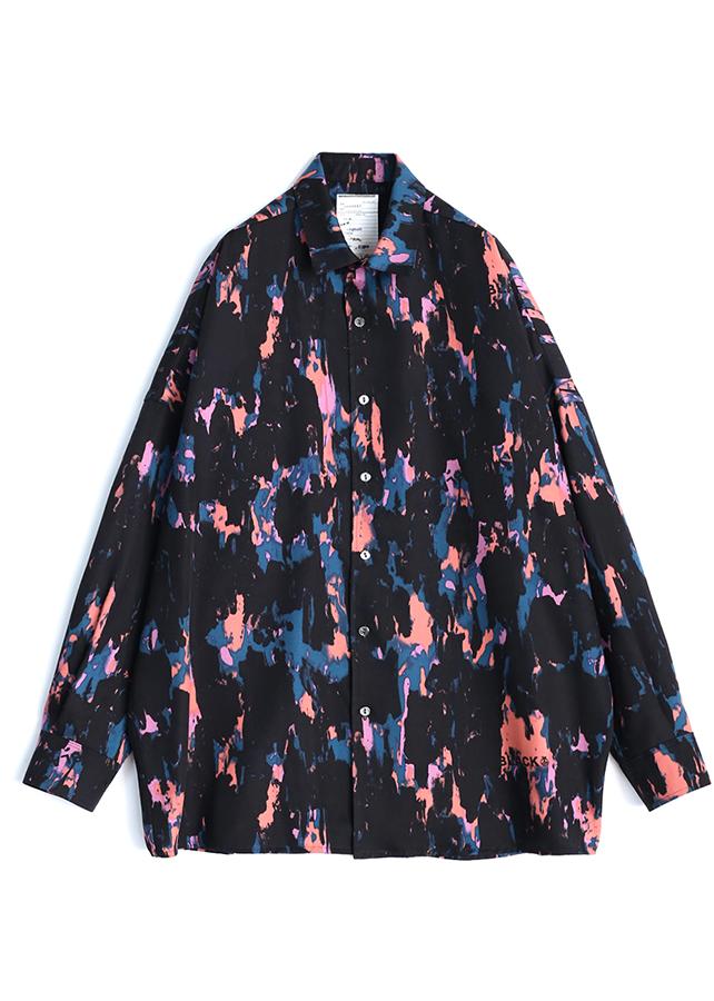 11/7ジャニッPONでマリウス葉くんが衣装で着用したSHAREEF PAINTシャツ