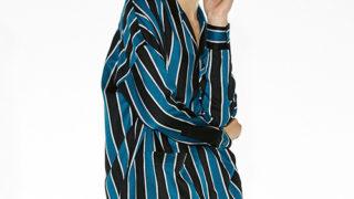 12/9のメレンゲの気持ちでHey!Say!JUMPの伊野尾慧くん着用の衣装のSHAREEF ストライプパジャマシャツ