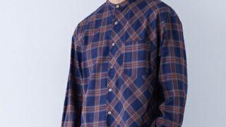 12/2放送のいただきハイジャンプで 知念侑李くんが着用した衣装の STUDIOUSマルチチェックバンドカラーシャツ
