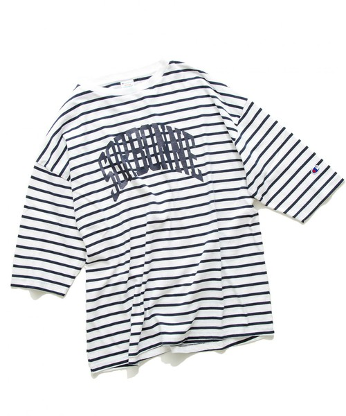 会報N0.38でリハーサルで山田涼介さん着用の私服ボーダーTシャツ<Champion(チャンピオン)BORDER TEE
