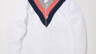 12/2放送のいただきハイジャンプで 山田涼介くんが着用した衣装の SUPERTHANKSラインリブシャツ
