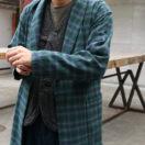11/30のVS嵐で 松本潤くんが着ていた衣装の PENDLETONガウン