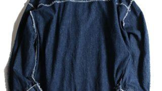 12/2放送のいただきハイジャンプで 八乙女光くんが着用した衣装の Jieda DENIM FRAY PULL OVER