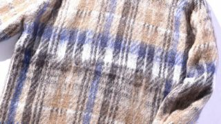 SHIPS JET BLUE シャギーチェックニット:ヒルナンデス 関ジャニ∞ 横山裕くんの衣装
