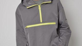 嵐 櫻井翔さんが1/18 VS嵐で着用した衣装のSUPERTHANKS ナイロンアノラック GRAY/YELLOW