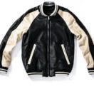 嵐の櫻井翔くんが1/27の嵐にしやがれで着用した衣装・ACANTHUS(アカンサス) L1705-leather souvenir jkt アウター