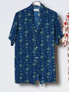 2/24 王様のブランチにて KAT-TUN亀梨和也さん着用の衣装 Bed J.W. Ford ベッドフォード18SSトランプモチーフシャツ