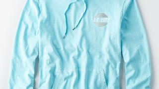 岩橋玄樹くん着用の衣装のAEグラフィックフードTシャツ