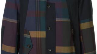 3/17放送の嵐にしやがれで松本潤さん着用の衣装・KOLOR チェック ボンバージャケット