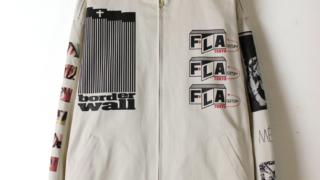 嵐 松本潤さんが3/15VS嵐で着用した衣装F-LAGSTUF-F フラグスタフ MULTI PRINT SWING TOP