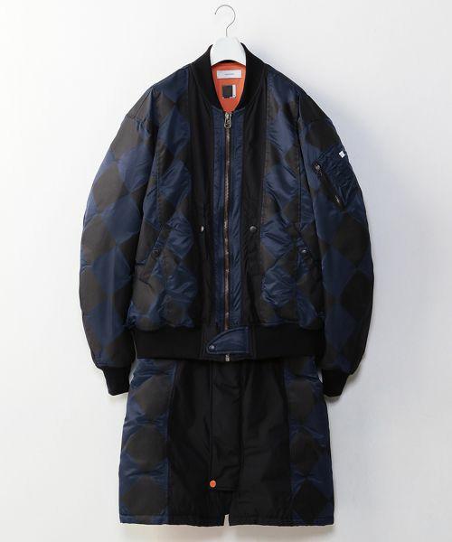 NEWS増田貴久さんが3/16放送のザ少年倶楽部プレミアムで着用した衣装のFACETASM DIAMOND LONG BUG MA-1
