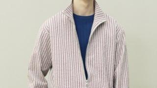 3/17放送嵐にしやがれで二宮和也さん着用の衣装・TOMORROWLAND MEN ウォッシュドサッカー スタンドブルゾン