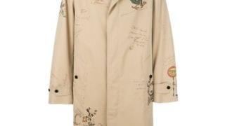 キスラジでキスマイの横尾渉さん着用の私服のBurberry スケッチコットントレンチコート