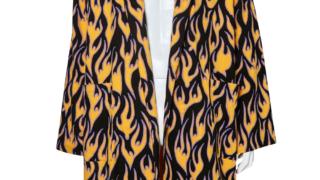 NEWS増田貴久さんが4/20放送のザ少年倶楽部プレミアムで着用した衣装のDISCOVERED/FIRE NEL ROBE