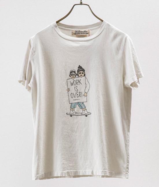 キスマイ 北山宏光くん着用の衣装・スペシャル加工 Tシャツ(WORK IS OVER)