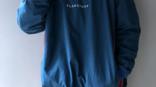 F-LAGSTUF-F / P/O Nylon Jacket (navy) 4/24 VS嵐 櫻井翔さん着用の衣装