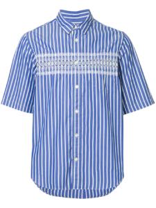 Hey!Say!JUMP夏タビ宮城で有岡大貴さん着用の衣装・SACAI ピンストライプ シャツ