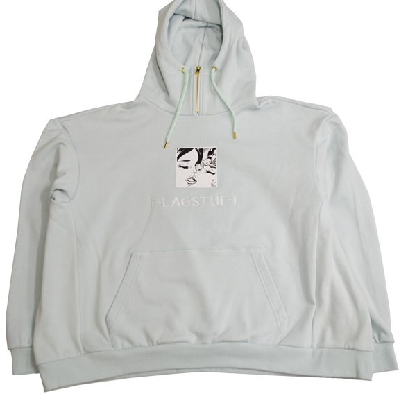 5/22 VS嵐で相葉雅紀さん着用の衣装・FLAGSTUFF KISS ZIP NECK HOODY