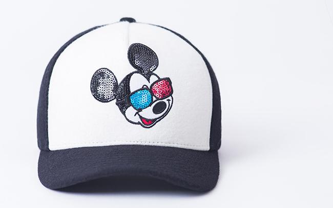 サタジャニ 藤井流星私物キャップ・NEW ERA(ニューエラ) 940 ミッキーマウス・スパンコール