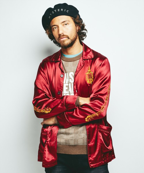 VS嵐 松本潤くん着用の衣装・HYSTERIC GLAMOUR HYSTERIC DEVIL刺繍 シャツジャケット