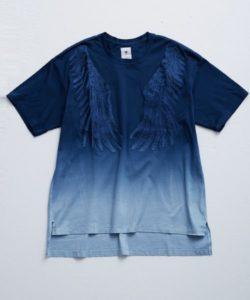 嵐にしやがれ 夏疾風 大野くんの衣装・【MIHARA YASUHIRO】 グラデーションフェザーTシャツ/GradationFeather Tsh