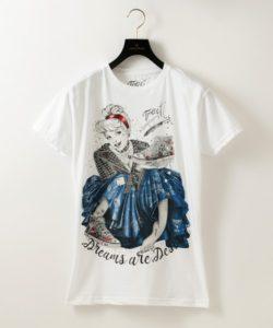 深澤辰哉さん着用の私服・【TRACT】WOMENS Tシャツ~CINDERELLA~