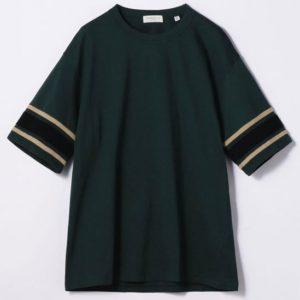 9/1 相葉雅紀さん着用の衣装・1/11 TOMORROWLAND MEN サルージャ鹿の子 フットボールTシャツ