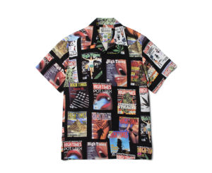 桐山照史くんの私服・HIGH TIMES × WACKO MARIA HAWAIIAN SHIRT