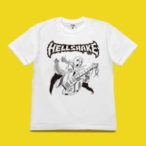佐久間大介くん着用の私服Tシャツ・ヘルシェイク矢野 ギターソロ Tシャツ