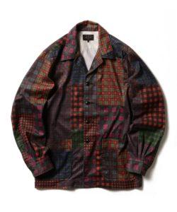 9/29放送の嵐にしやがれで相葉雅紀さん着用の衣装・BEAMS PLUS / パッチワーク キャンプカラー ジャケット