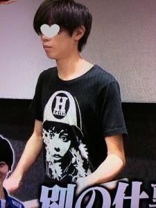 神宮寺勇太ガムシャラ着用の私服Tシャツ