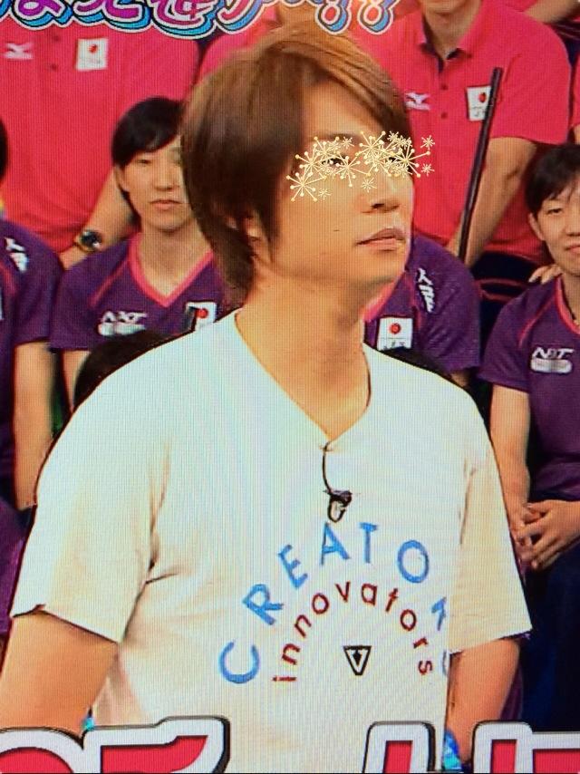 相葉雅紀 VS嵐 8月14日着用の衣装 Tシャツ